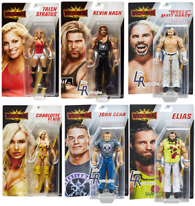 WWE Figures - Basic Series Wrestlemania 35 - Mattel - Brand New - Sealed