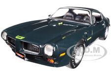 1973 PONTIAC FIREBIRD TRANS AM GREEN MCACN LTD 1002PCS 1/18 AUTOWORLD AMM1109