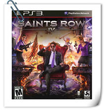PS3 SAINTS ROW IV SONY PLAYSTATION Deep Silver Action Games