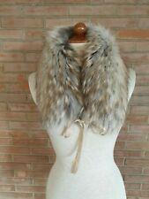 COLLO in PELLICCIA di MURMASKY FOURRURE FUCHS PELZ KRAGEN SCARF FUR FOX raccoon