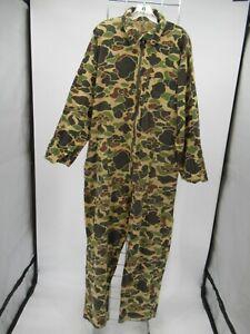 M9374 VTG Men's Saftbak Camouflaged Hunting Coveralls