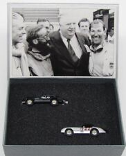 RARE MERCEDES 300 SL 300 SLR MILLE MIGLIA 2 CAR SET 1:87 BUB (DEALER MODEL)