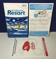 Manual & Inserts Only Wii Sports Resort (Wii, 2009) *No Game Or Case* SEE PICS