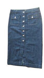 Next Long Demin Skirt