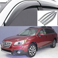 For Subaru Outback 2015-2020 Window Visor Vent Sun Shade Rain Guard Door Visor