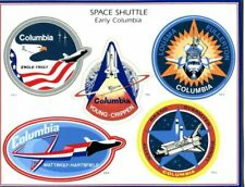 SPACE SHUTTLE Early Columbia and Challenger Decals Sheets FREE SHIPPING