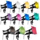 "11pcs 12""Gel Color Filter For Photography Studio Flash Speedlite Strobe Lighting"