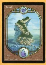 Vintage Magic | MTG Unglued Island Full Artwork Basic Land | NM/Mint UNPLAYED