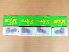 Star Female Battery Connector Plug Lot of 4 Pkgs Deans Compatible New HCAM4020
