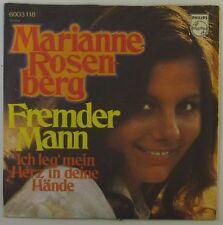 "7"" single-Marianne rosenberg-étranger homme-s905h-washed & cleaned"