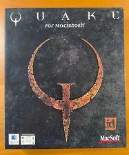 QUAKE For Macintosh, Macsoft Game & Manual in Box