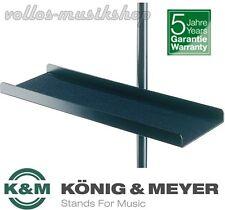 Notenablage anklemmbar an Notenpult K&M 12218 schwarz Aluminium König & Meyer