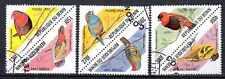 Oiseaux Bénin (9) série complète de 6 timbres oblitérés