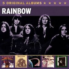 RAINBOW - 5 ORIGINAL ALBUMS 5 CD NEW+