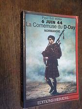 6 juin 44 La cornemuse du D-Day Normandie / Piper Bill Millin