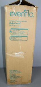 Evenflo Portable BabySuite Playard #7011198 Gray w/ Carrying Bag  [GS 3-25]