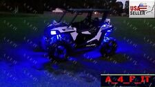 Universal ATV 4 Wheeler LED NEON Glow Lighting Kit Quad Dune Buggy UTV Golf Cart