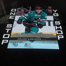2014 15 UD YOUNG GUNS 468 MELKER KARLSSON RC MINT +FREE COMBINED S&H