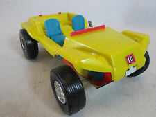 Vintage 1970's Durham Coyote Duster wind up sparking toy dune buggy car