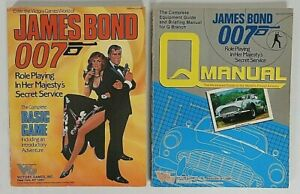 James Bond 007 Basic Game Rules RPG Role Playing Game Victory Games Q Manual