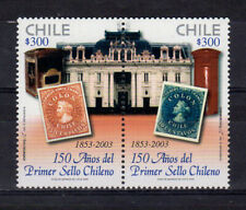 CHILE - 2003 – First Chilean Postage Stamps, 150th Anniv