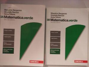 MATEMATICA VERDE 3A + 3B - BERGAMINI 2E - ISBN 9788808837837