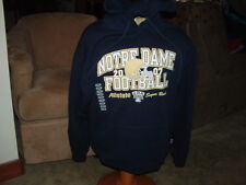 Notre Dame (2007 Sugar Bowl)Hoodie-new Mens LG.by Russell Athletics