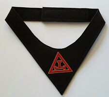 Royal Arch Cravat with Hand Embroidery Symbol