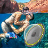 """TELESIN For GoPro 5 6 7 8 6"""" Dome Port Waterproof Case Underwater Photograph"""