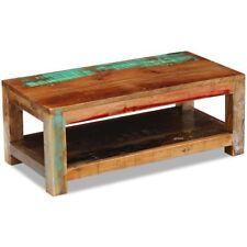 vidaXL Massivholz Couchtisch Beistelltisch Wohnzimmer Kaffee Sofa Tisch Antik