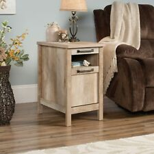 Sauder Cannery Bridge Collection Side Table/End Table in Lintel Oak Finish
