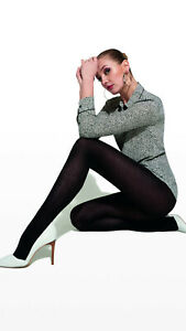 WOMAN LUXURY ITALY WOOL AND COTTON TIGHTS, 150 DEN WARM OPAQUE PANTYHOSE
