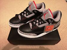 Air Jordan 3 Black Cement Retro OG 2018, Brand New, DS Condition, Size UK 10