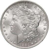 1884 O Morgan Silver Dollar BU US Mint Coin