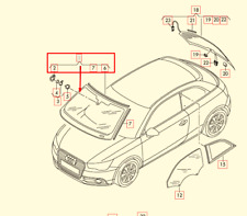 Audi A1 8X1 Front Windscreen 8X0845099C NVB NEW GENUINE