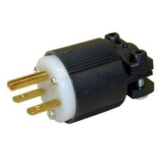 NEMA 6-15P Straight Electrical Plug 3 Wire, 20 Amps, 220V 230V 250V