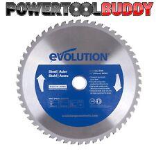 Evolution Rage Blue 255mm x 48TCT Steel Cutting Saw Blade