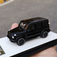 MOTORHELIX New 1:64 Scale Mercedes-Benz 2019 G63 AMG SUV Car Model Collection