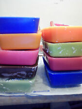 5 blocks ECO SOYA scented Candle making wax =1.8kg Coloured To make own candles
