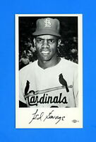 1965 ST LOUIS CARDINALS TEAM ISSUED POSTCARD TED SAVAGE  NM-MT