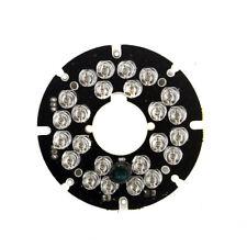 2PCS/Lot 24 LEDs Infrared IR 90 Degrees Bulbs Light Board 850nm For CCTV Camera