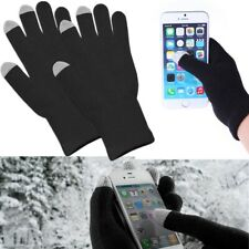 Winter Thermal Knit Insulated Finger Mitten With Touch Screen Black Gloves Lot