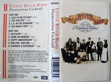 LITTLE RIVER BAND - DIAMANTINA COCKTAIL. Rare Cassette Tape. (Rock)
