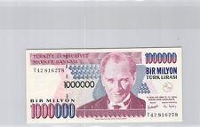 Turquie 1 000 000 Lira L1970 (1995) n° T42816278 Pick 209