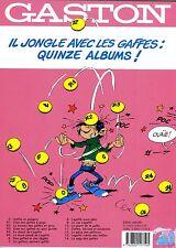 """FRANQUIN """"Le gang des gaffeurs""""GASTON  1989 avecTimbre oblitération1erjourNeuf!"""