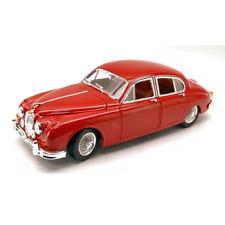 JAGUAR MARK II 1959 RED 1:18 Burago Auto Stradali Die Cast Modellino