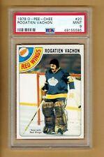 1978-79   OPC   Rogatien Vachon   #20   PSA 9