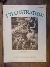 L'illustration 4694  - 18 février 1933 une catastrophe dans la Sarre