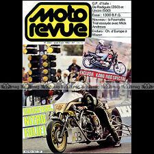 MOTO REVUE N°2561 HONDA DAX KAWASAKI KZ 1100 SPECTRE MICK ANDREWS BFG 1300 1982