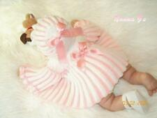"""""""Pleats Galore"""" EASY Knitting Pattern for Baby 0-3 months. (Or Reborn Doll)  #15"""